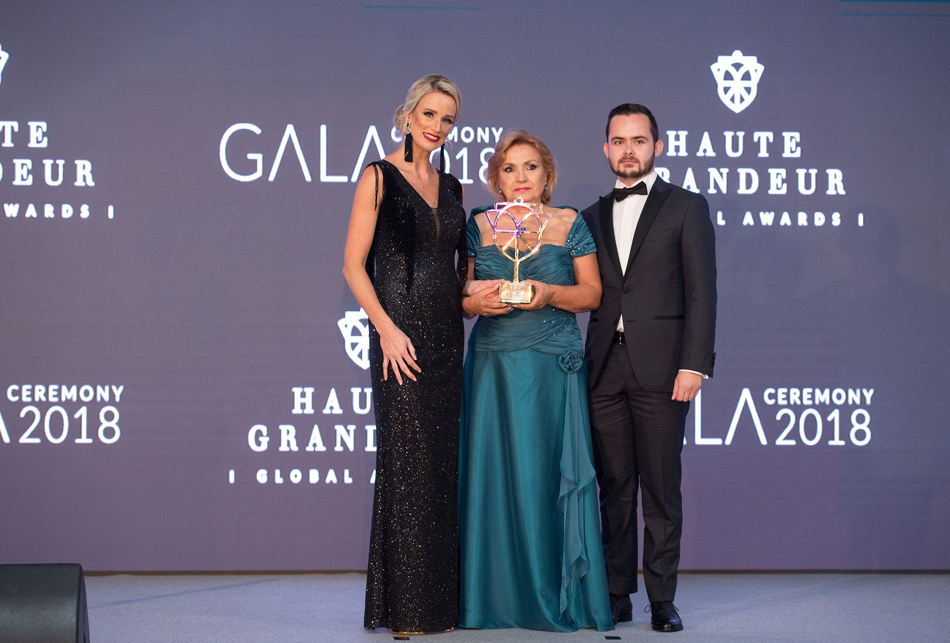 Haute Grandeur 2018 Awards for Spa Club Bor Velingrad